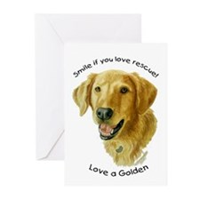 Love a Golden Greeting Cards (Pk of 10)
