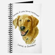 Love a Golden Journal