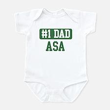 Number 1 Dad - Asa Infant Bodysuit