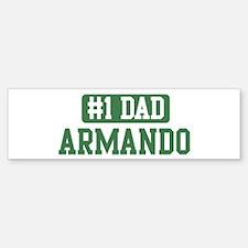 Number 1 Dad - Armando Bumper Bumper Bumper Sticker