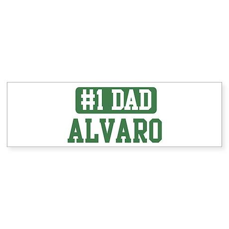 Number 1 Dad - Alvaro Bumper Sticker