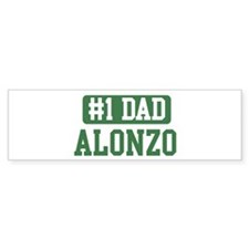 Number 1 Dad - Alonzo Bumper Bumper Sticker
