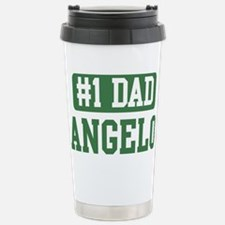 Number 1 Dad - Angelo Stainless Steel Travel Mug