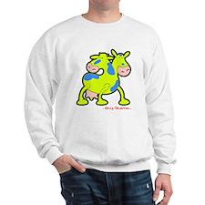 "Cow ""Twice the Moo"" Sweatshirt"