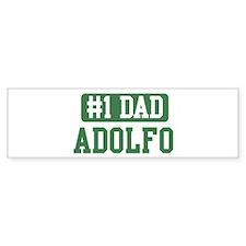 Number 1 Dad - Adolfo Bumper Bumper Sticker