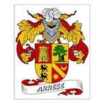 Arrese Coat of Arms Small Poster
