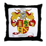 Arrese Coat of Arms Throw Pillow