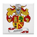 Arrese Coat of Arms Tile Coaster