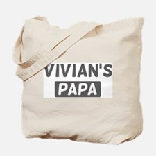 Vivians Papa Tote Bag