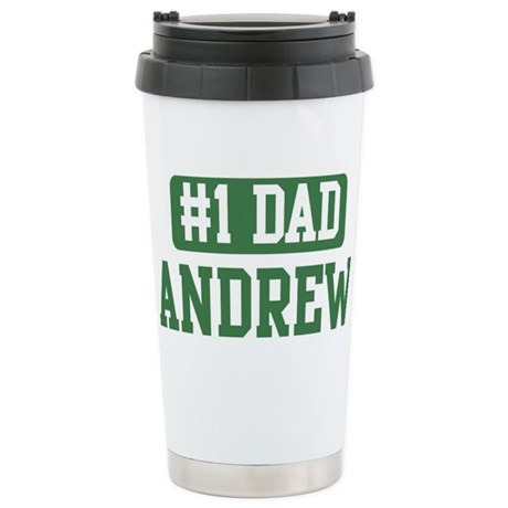 Number 1 Dad - Andrew Stainless Steel Travel Mug