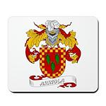 Arriola Coat of Arms Mousepad