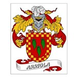 Arriola Coat of Arms Small Poster