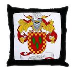 Arriola Coat of Arms Throw Pillow