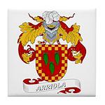 Arriola Coat of Arms Tile Coaster