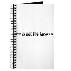 War is not the answer! Journal