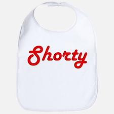 Shorty (Red Lettering) Bib