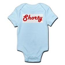 Shorty (Red Lettering) Infant Creeper