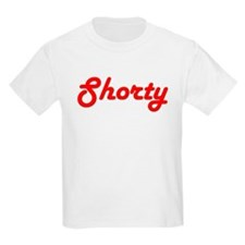 Shorty (Red Lettering) Kids T-Shirt