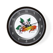 Masachusettes Wall Clock