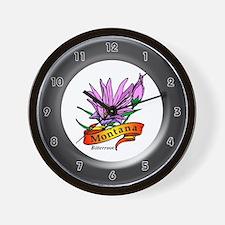 Montana Wall Clock