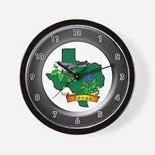 Texas Wall Clock