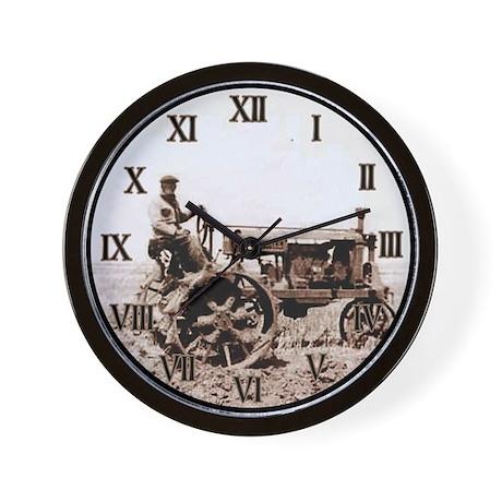 Vintage Tractor Wall Clock