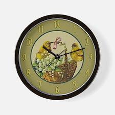 Tiny Chicks Wall Clock