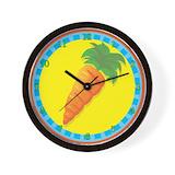 Carrots Wall Clocks