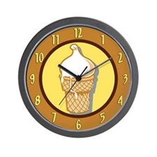 I Scream For Ice Cream Wall Clock