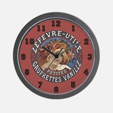 Vintage Product Label Wall Clock