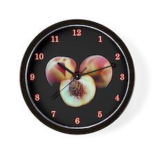 Peach Wall Clock