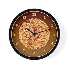 Trail Mix Wall Clock