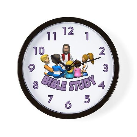 Bible Study Wall Clock by sagart