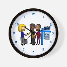 Real Estate Wall Clock