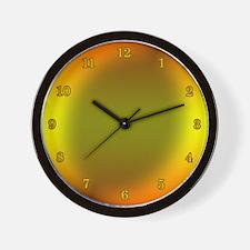 Fusion Wall Clock