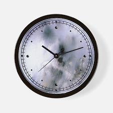 Marble Glaze Wall Clock
