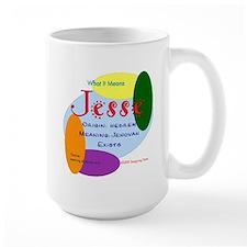 JESSE Name Mug (15 oz)