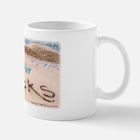 """""""Lake Superior ROCKS!"""" Mug"""