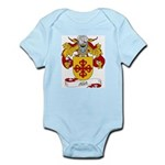 Aza Coat of Arms Infant Creeper