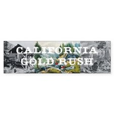 ABH California Gold Rush Bumper Sticker