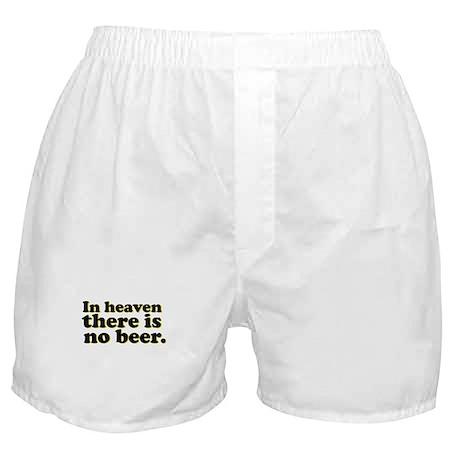 No Beer Boxer Shorts