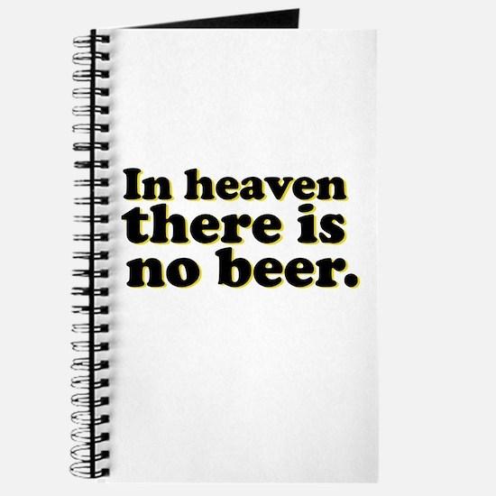 No Beer Journal