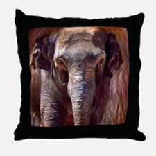 Cute Baby wild animals Throw Pillow