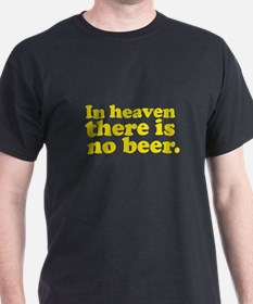 No Beer T-Shirt