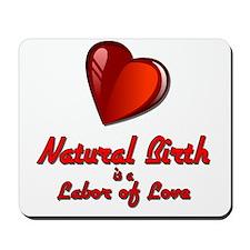 Natural Birth Mousepad