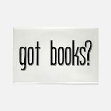 Got Books? Rectangle Magnet