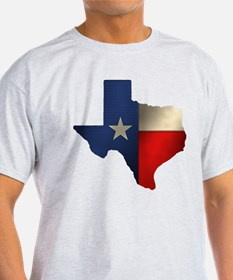 State of Texas Ash Grey T-Shirt