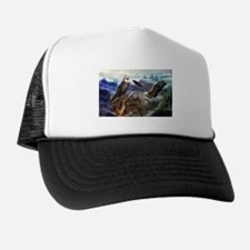 Cute Military valentines Trucker Hat