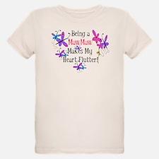 MawMaw Heart Flutter T-Shirt