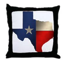 State of Texas Throw Pillow